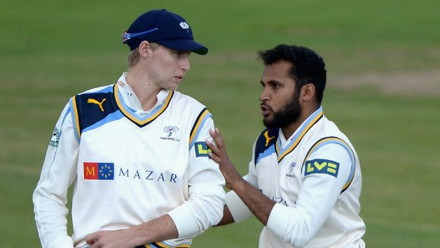 Rashid has the backing of Root in the Test series. (Getty)