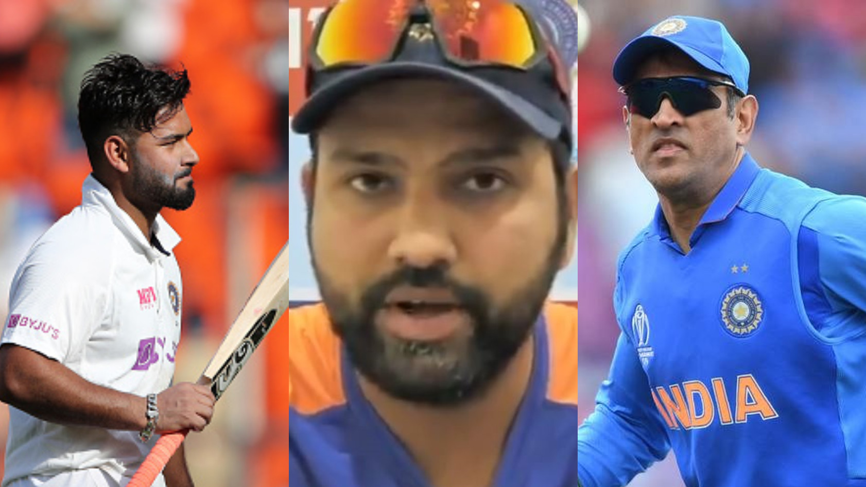 """IND v ENG 2021: """"Rishabh Pant is more than ready to fill MS Dhoni's shoes,"""" says Rohit Sharma"""