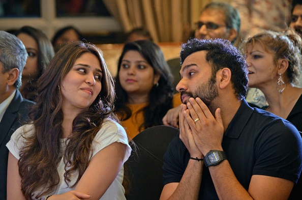 Rohit Sharma and Ritika Sajdeh | GETTY