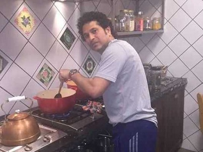 Sachin Tendulkar is also a master at cooking apart from cricket