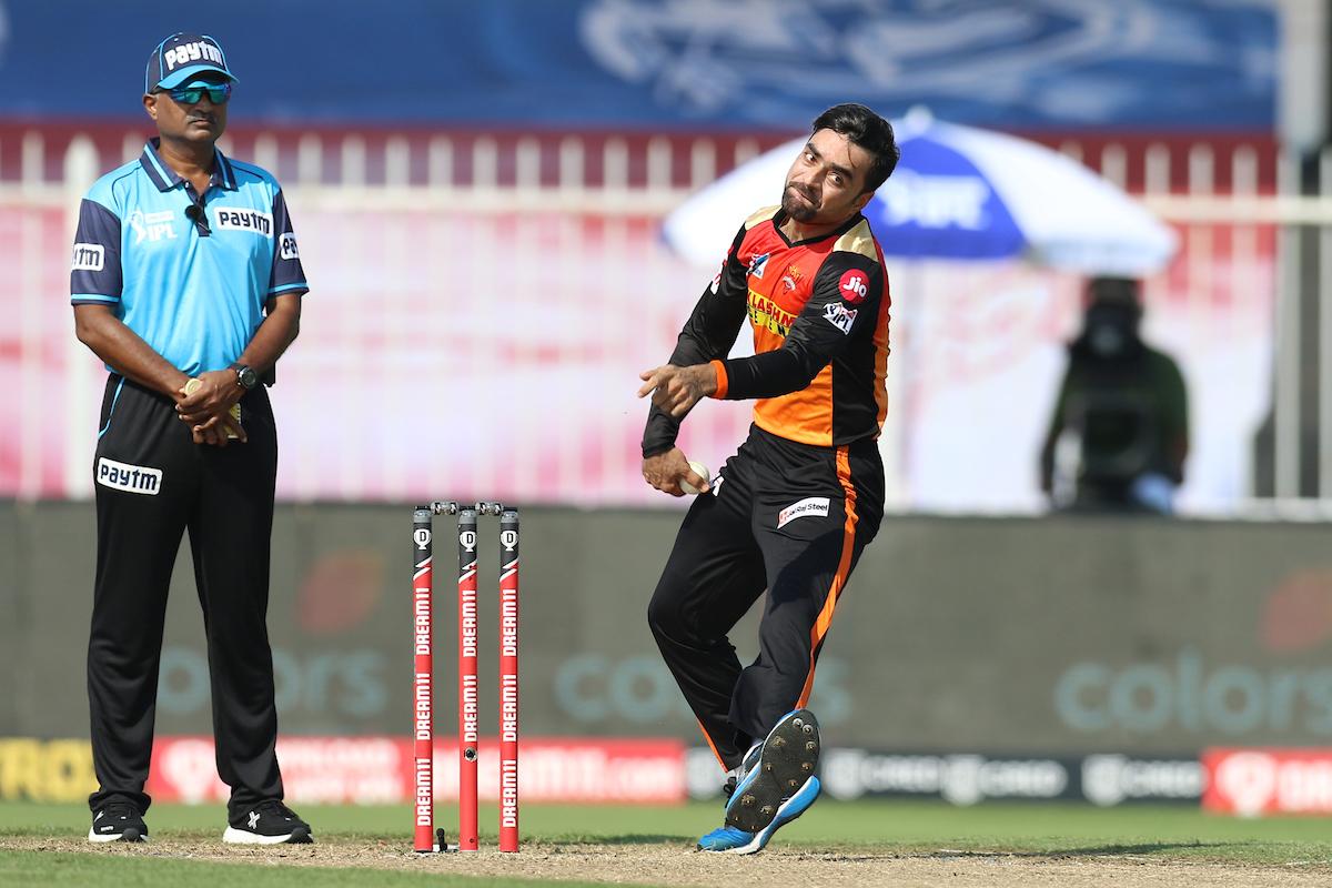 Rashid Khan has been SRH's trump-card with the ball so far | BCCI/IPL