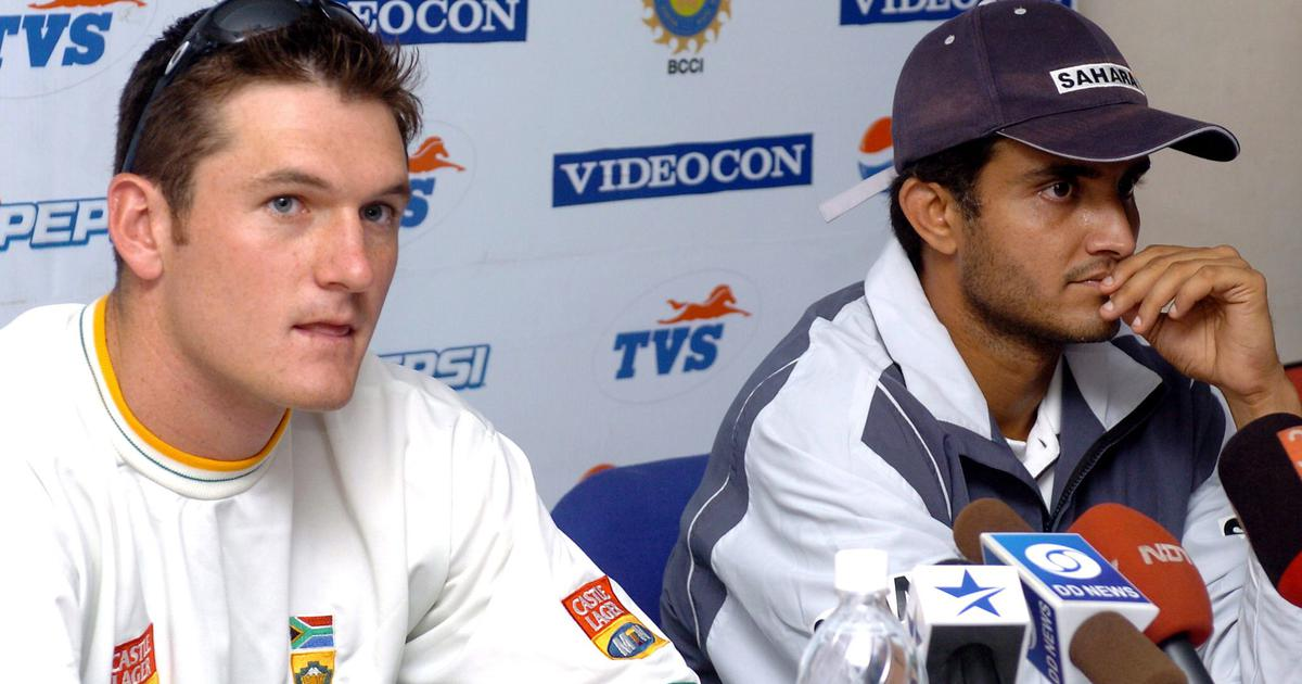Graeme Smith and Sourav Ganguly back in the day
