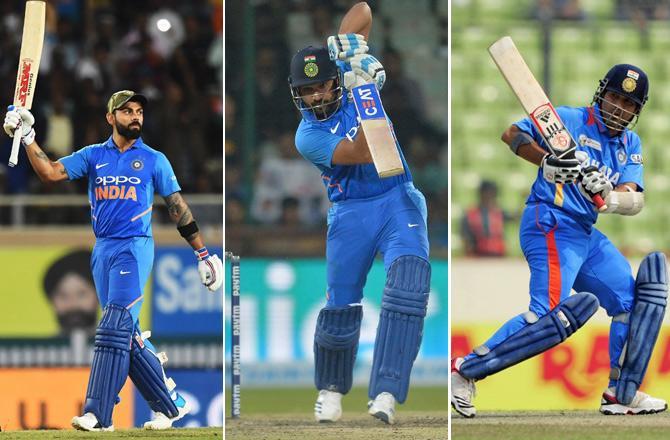 Chopra picked Kohli, Sachin and Rohit in his XI