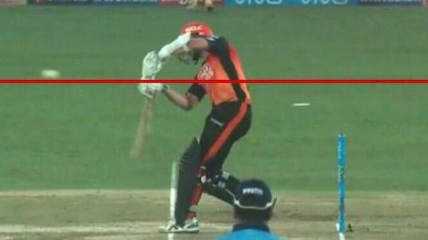 IPL 2018: SRH captain Kane Williamson mentions the no ball issue in his report of CSK match