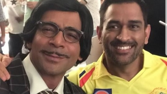 MS Dhoni to appear in a comedy show promo with comedian Sunil Grover