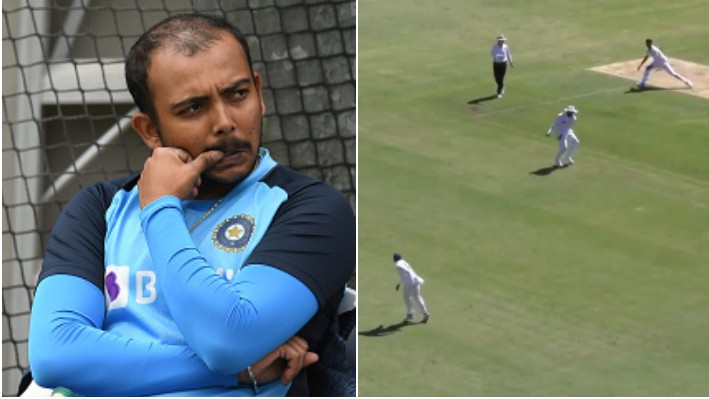 AUS v IND 2020-21: Prithvi Shaw's throw at Rohit Sharma gets him roasted on Twitter