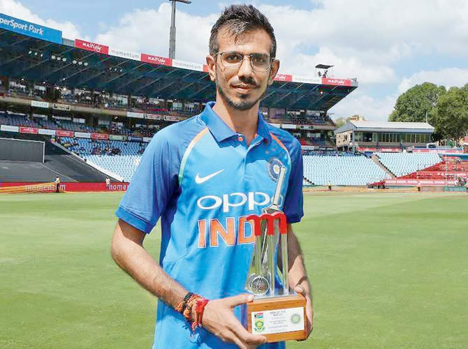 Reason behind Yuzvendra Chahal wearing glasses while fielding revealed