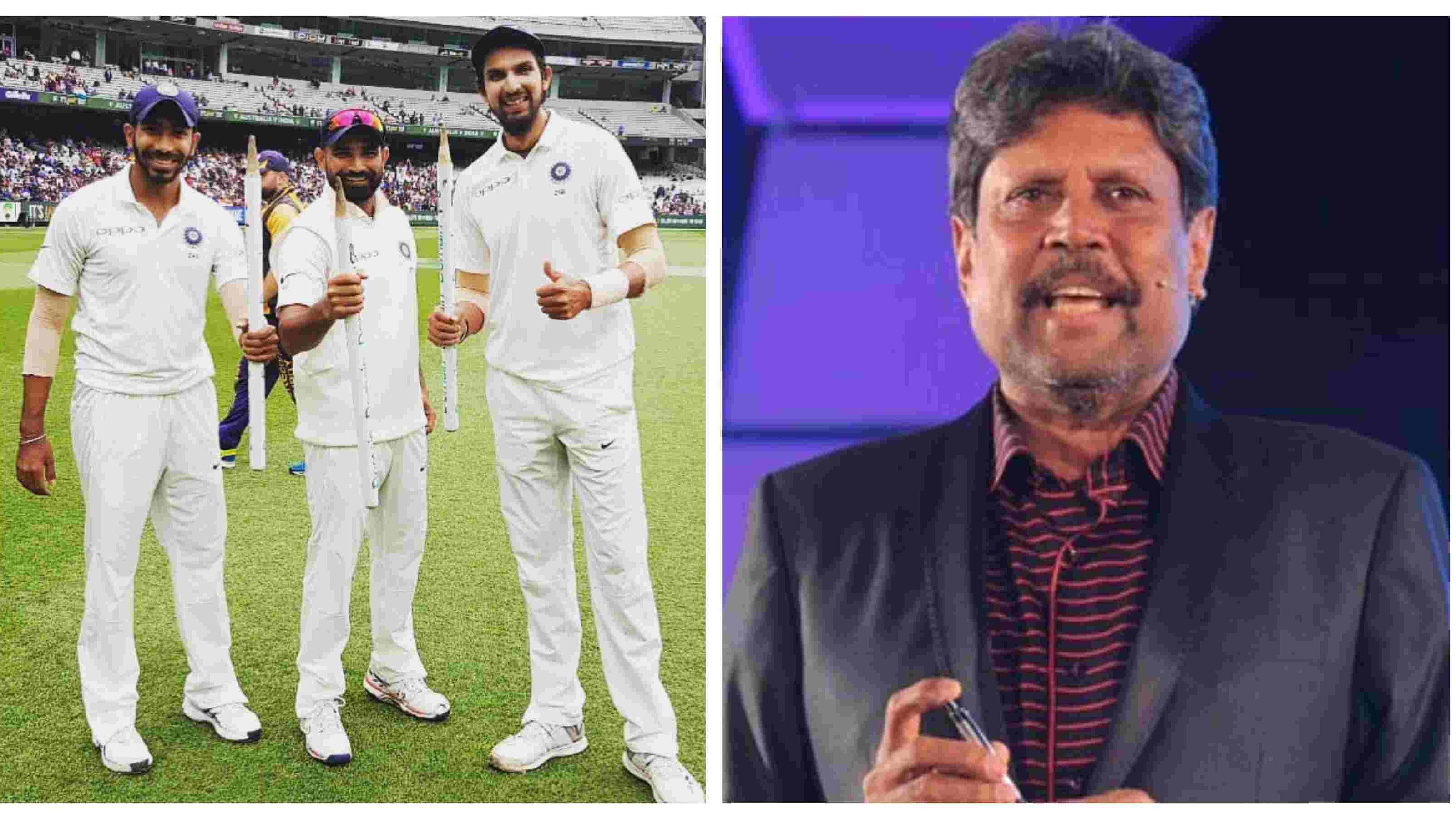 AUS v IND 2018-19: Kapil Dev in awe of Indian fast bowlers' performance in last 15 months