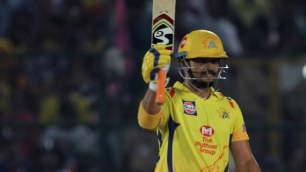 IPL 2018: Match 43, RR v CSK – Raina's 52 and contributions from Watson and Dhoni takes CSK to 176