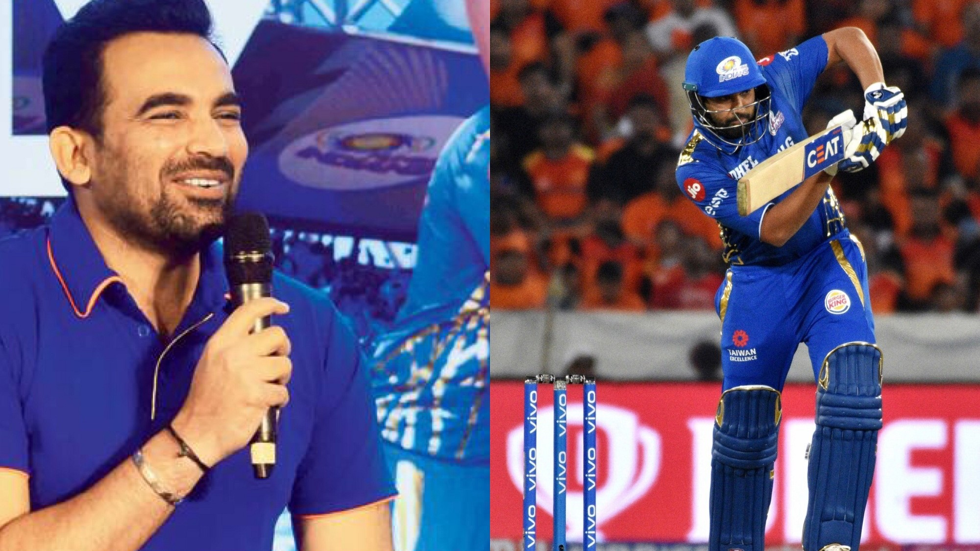 IPL 2019: Zaheer Khan gives an update on the availability of Rohit Sharma for Rajasthan clash