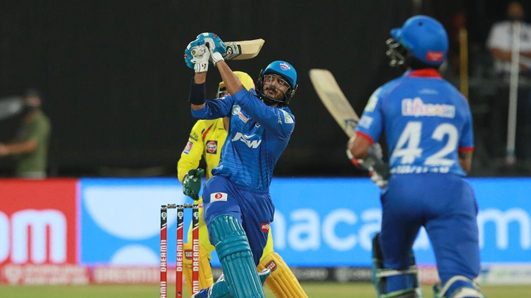 "IPL 2020: ""Apna time ayega,"" Akshar Patel predicted his six-hitting before smashing Jadeja for three of them"