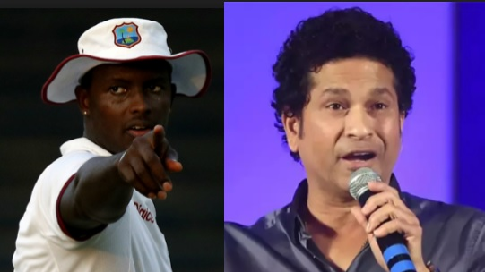 Sachin Tendulkar the lone Indian in Jason Holder's all-time XI