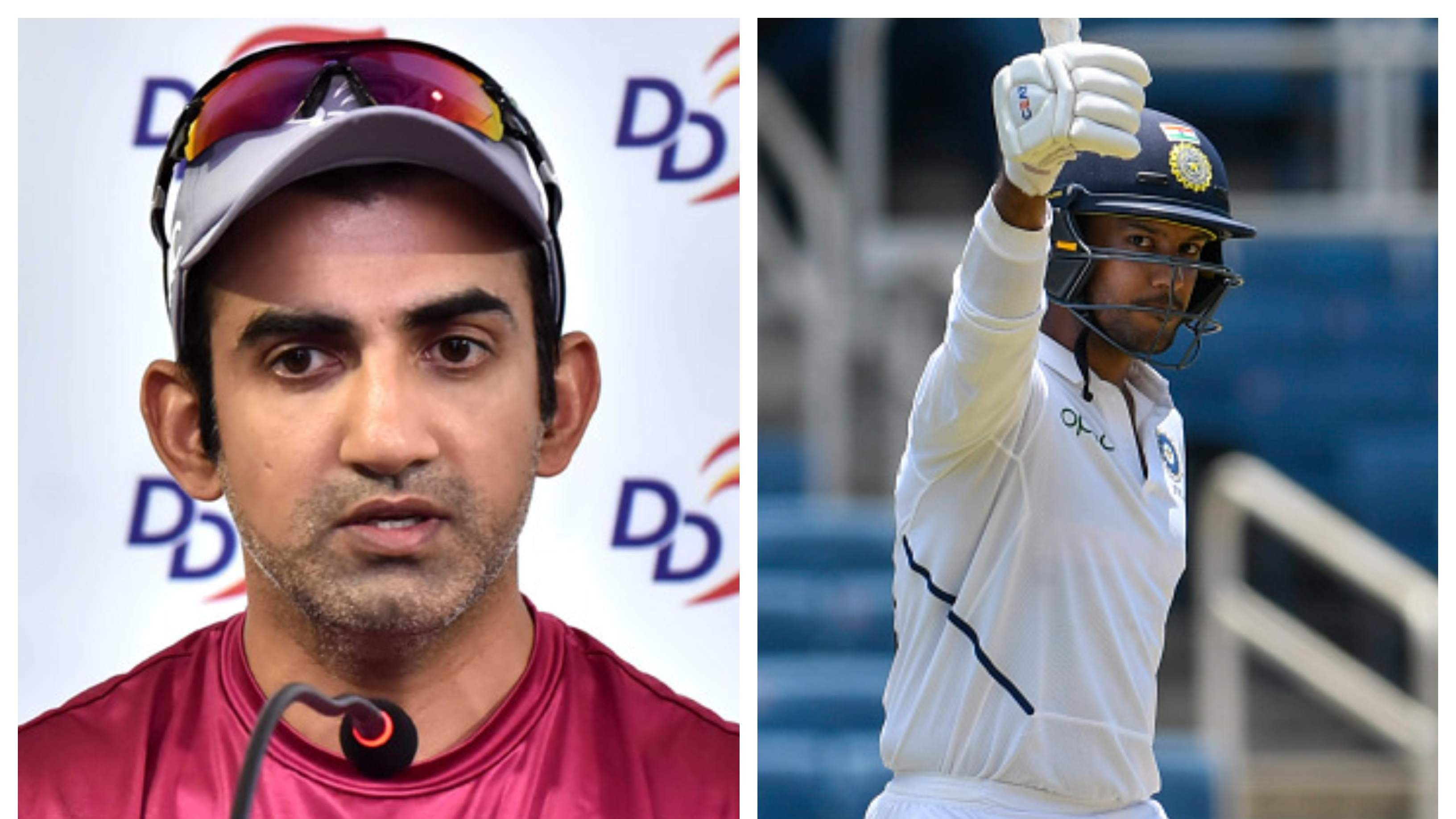 NZ v IND 2020: Gautam Gambhir pins his hopes on Mayank Agarwal to play a big role in Test series