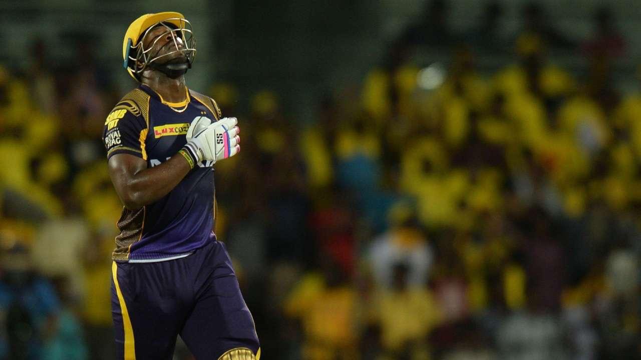 IPL 2018 : जेम्स फाल्कनर, आंद्रे रसेल की बल्लेबाज़ी को देख हुए आश्चर्य