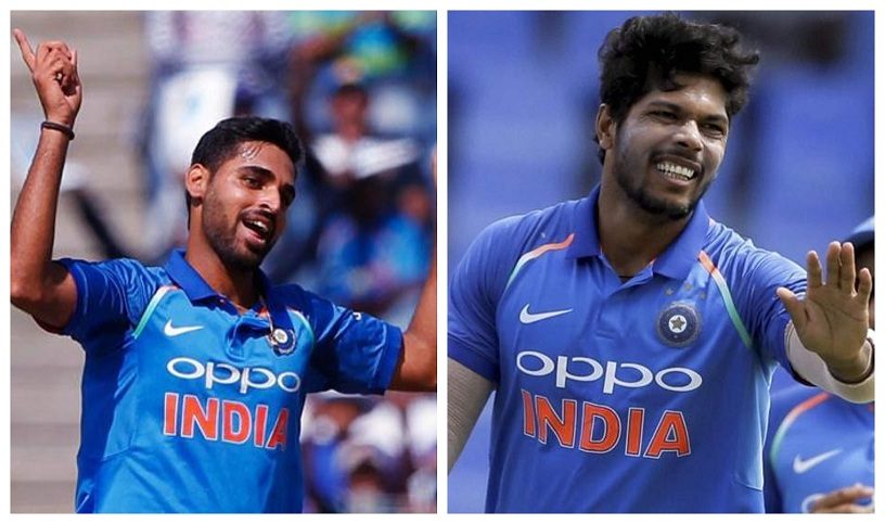 Bhuvneshwar Kumar and Umesh Yadav will spearhead the fast bowling attack | Getty/ AP