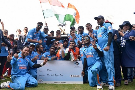 Indian Blind World Cup-winning team unhappy with BCCI and Sports Ministry