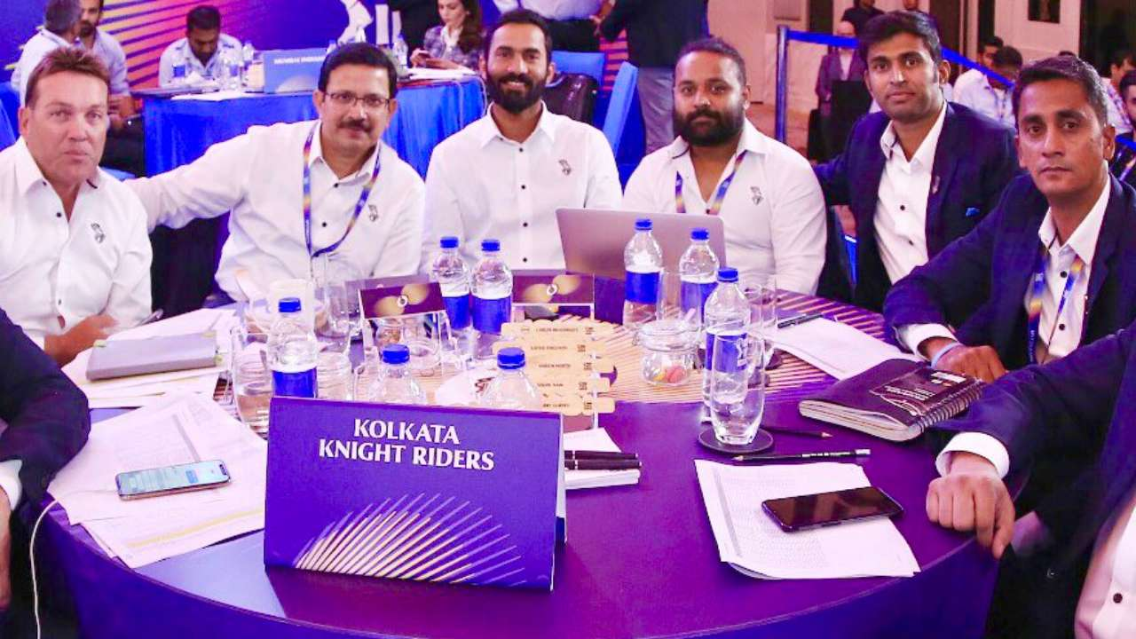 Venky Mysore recalled when IPL auction pushed back after Chennai Super Kings and Rajasthan Royals returned   KKR Twitter
