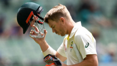 David Warner scores a ton on his cricket return