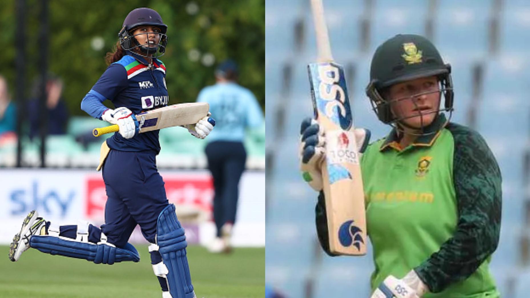 Lizelle Lee joins Mithali Raj as the no.1 ranked batswoman in latest ICC Women's ODI rankings