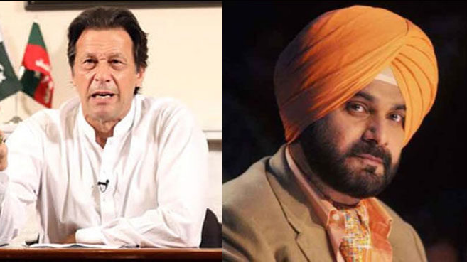 Navjot Singh Sidhu feels honoured after Imran Khan invites him for his swearing-in ceremony