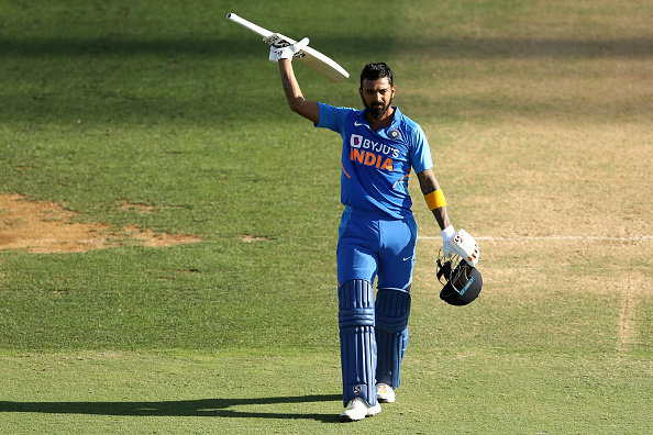 KL Rahul made his fourth ODI century | Getty