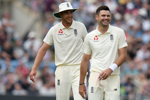 James Anderson and Stuart Broad | Getty