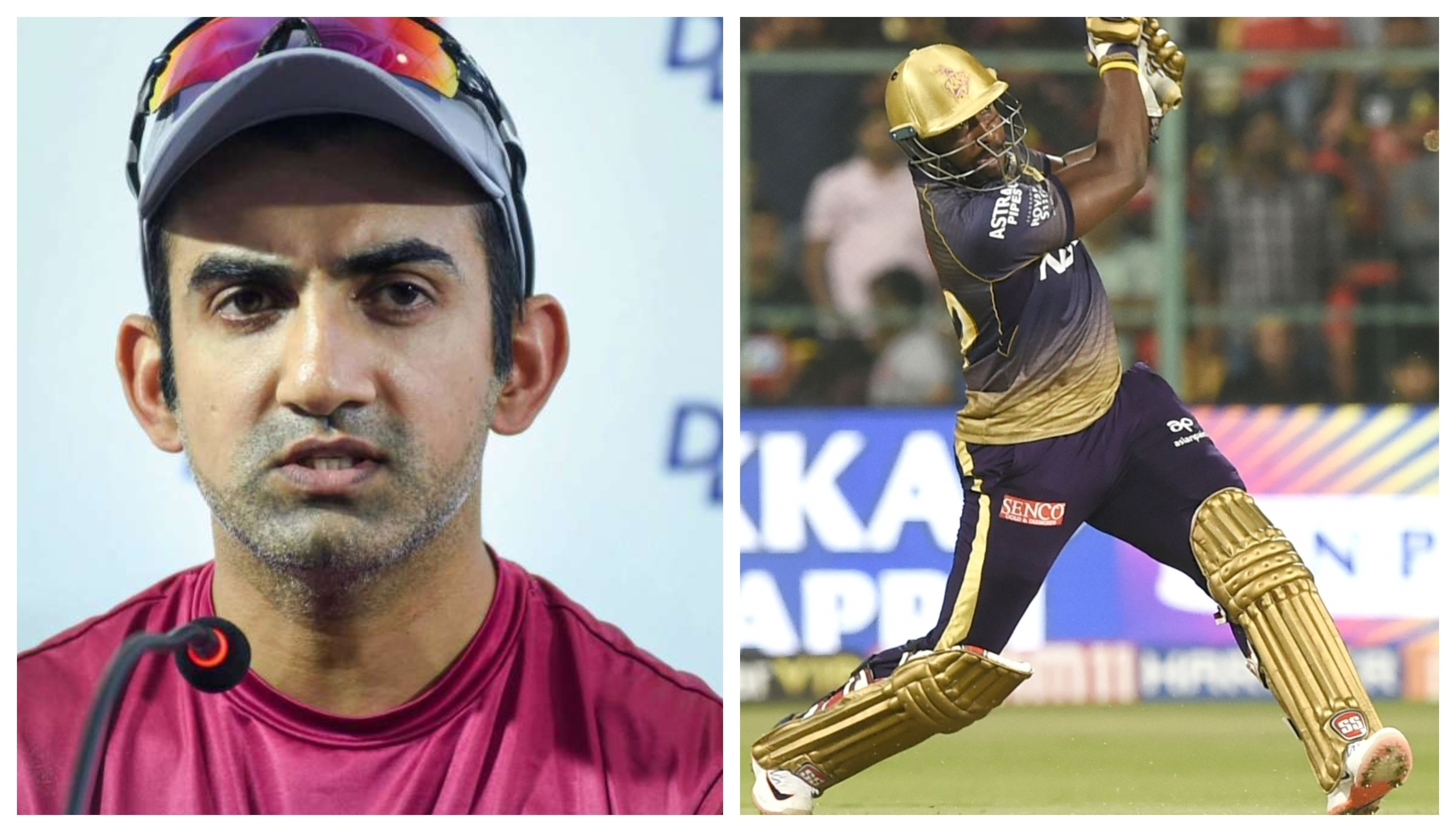 IPL 2020: Gautam Gambhir names a bowler who can trouble Andre Russell in the upcoming IPL