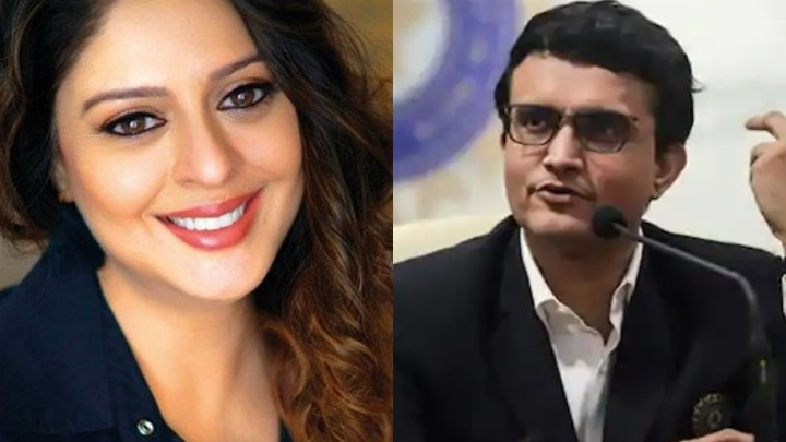 Actress Nagma's birthday wish for Sourav Ganguly causes storm on Twitter