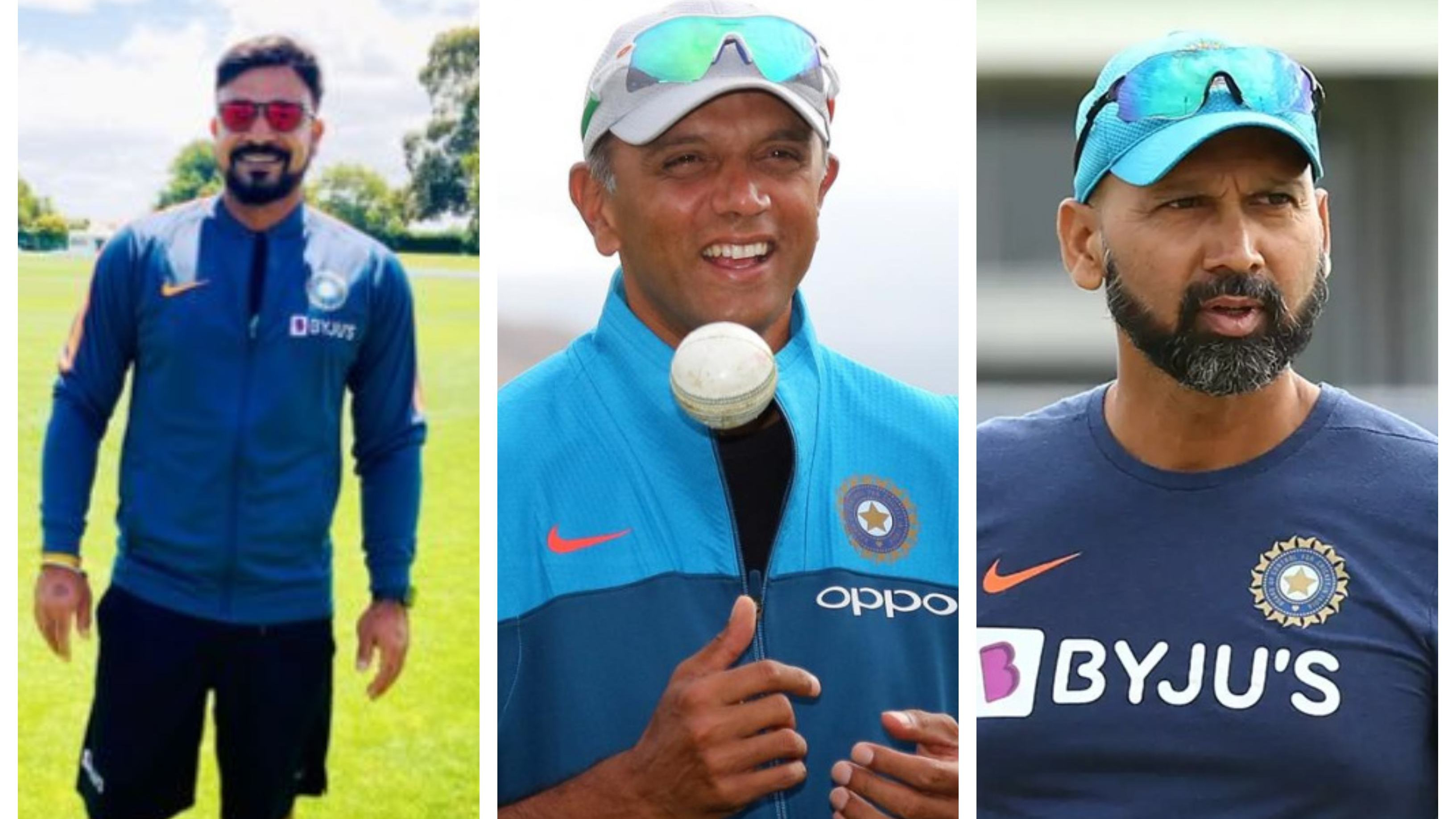 SL v IND 2021: T Dilip and Paras Mhambrey to assist Rahul Dravid on white-ball tour to Sri Lanka
