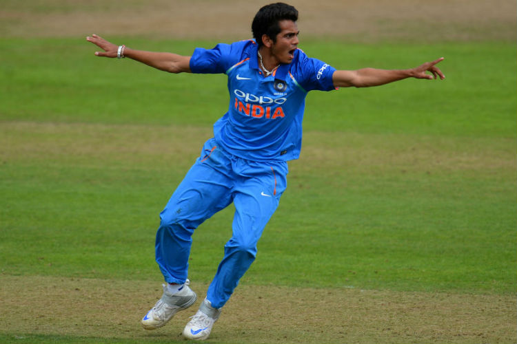 Kamlesh Nagarkoti impressed everyone with his express pace against Australia U-19 | Getty