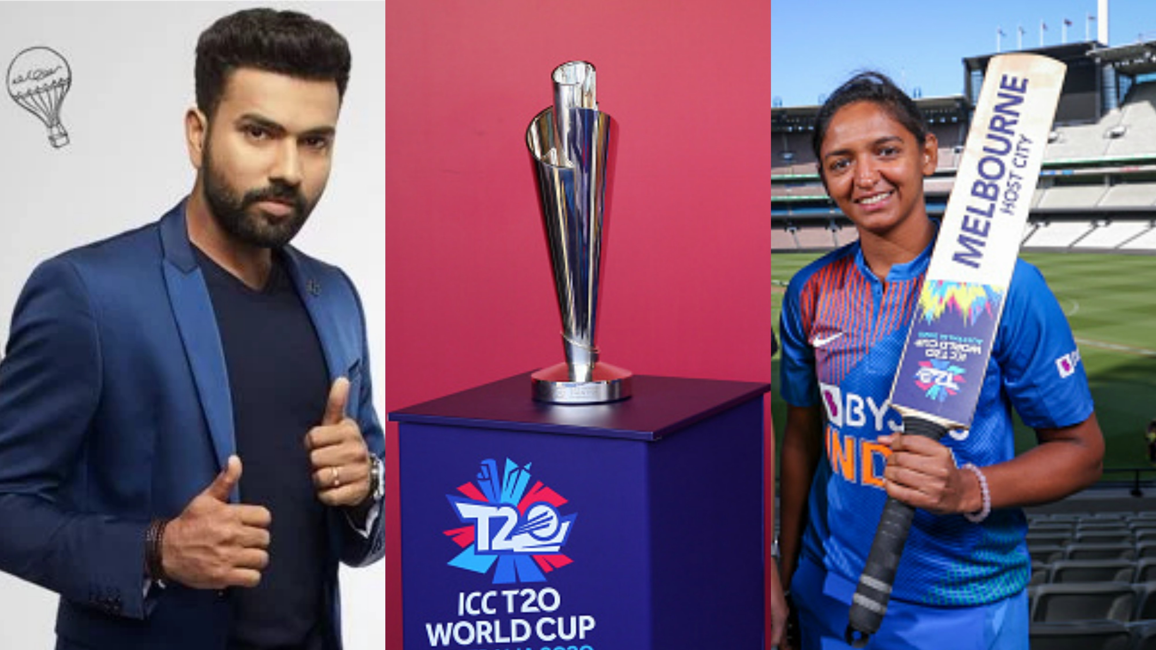 Women's T20WC 2020: Rohit Sharma cheers for the India Women ahead of T20 World Cup
