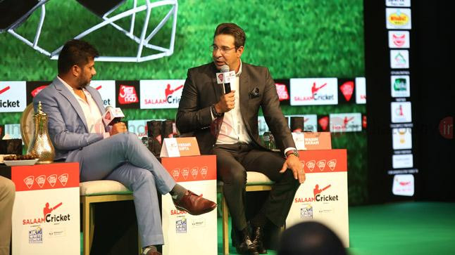 Salaam Cricket 2018: Wasim Akram recalls funny incidents from his playing days