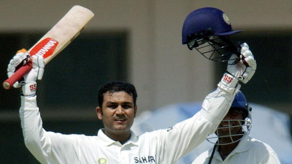 WATCH - Virender Sehwag explains why March 29 is special for him, shares memories of two triple centuries