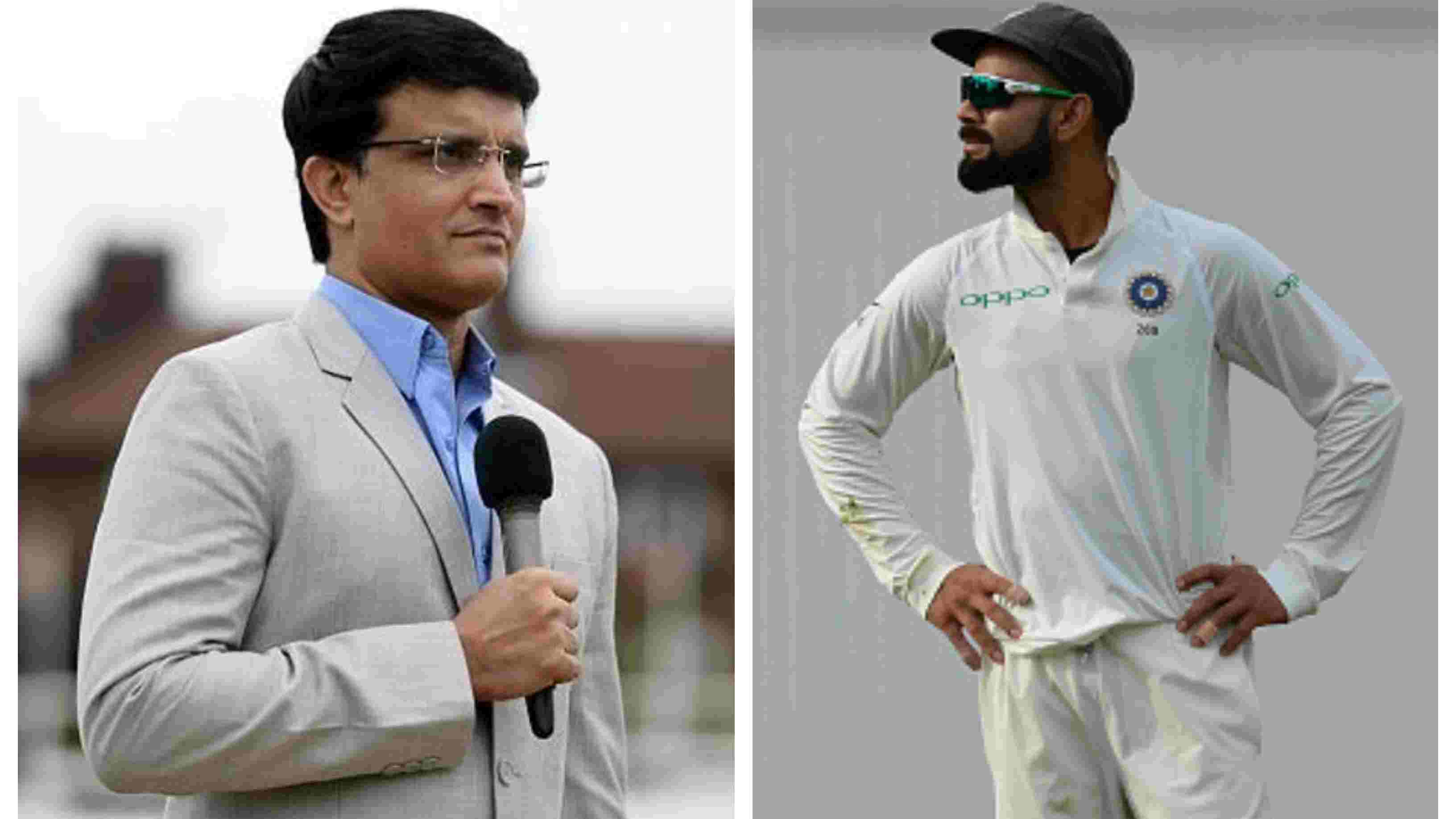 ENG v IND 2018: Virat Kohli needs to recognize talent and bring the best out of them, says Sourav Ganguly