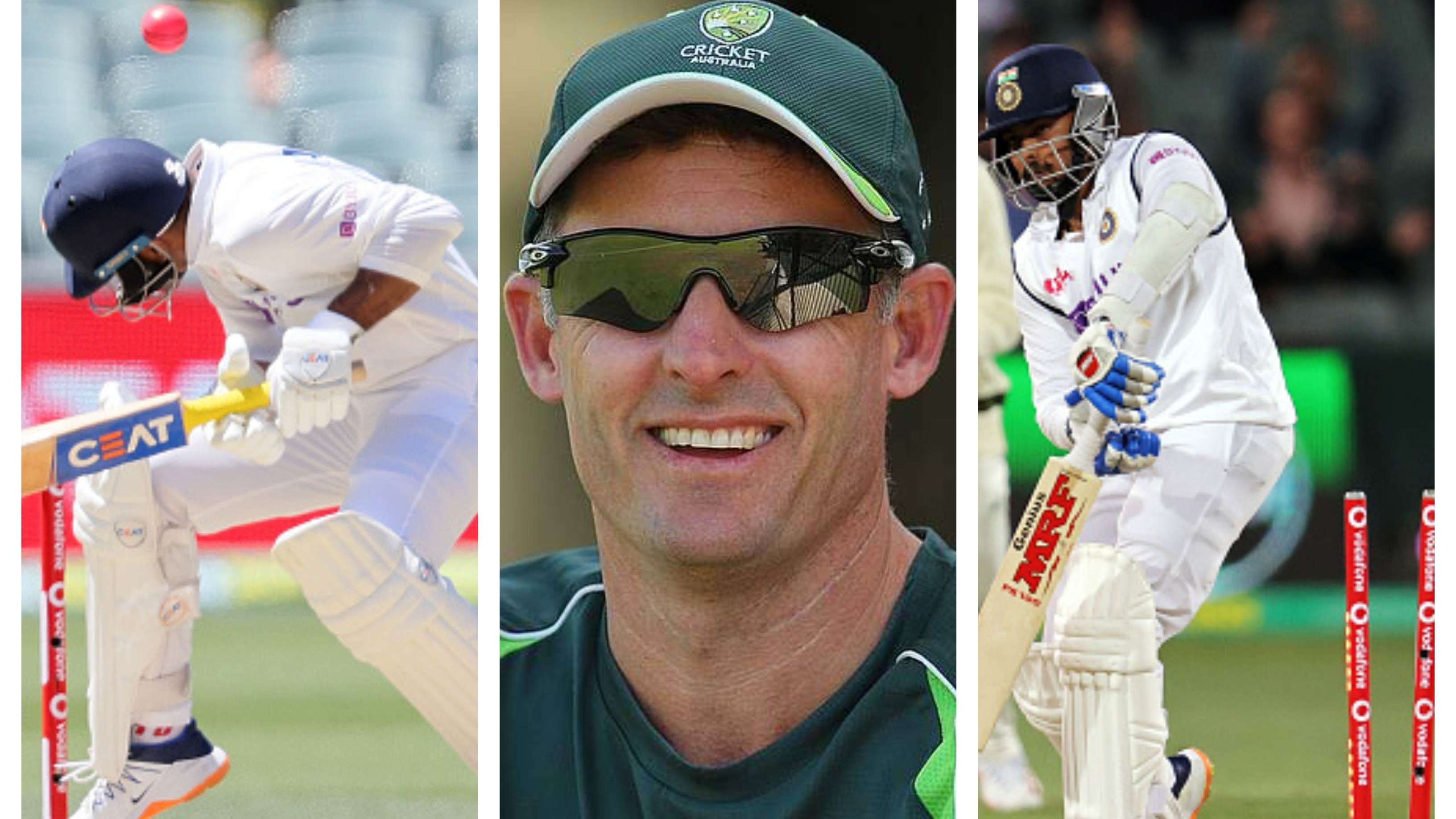 AUS v IND 2020-21: Michael Hussey weighs in over India's abysmal batting performance in Adelaide Test