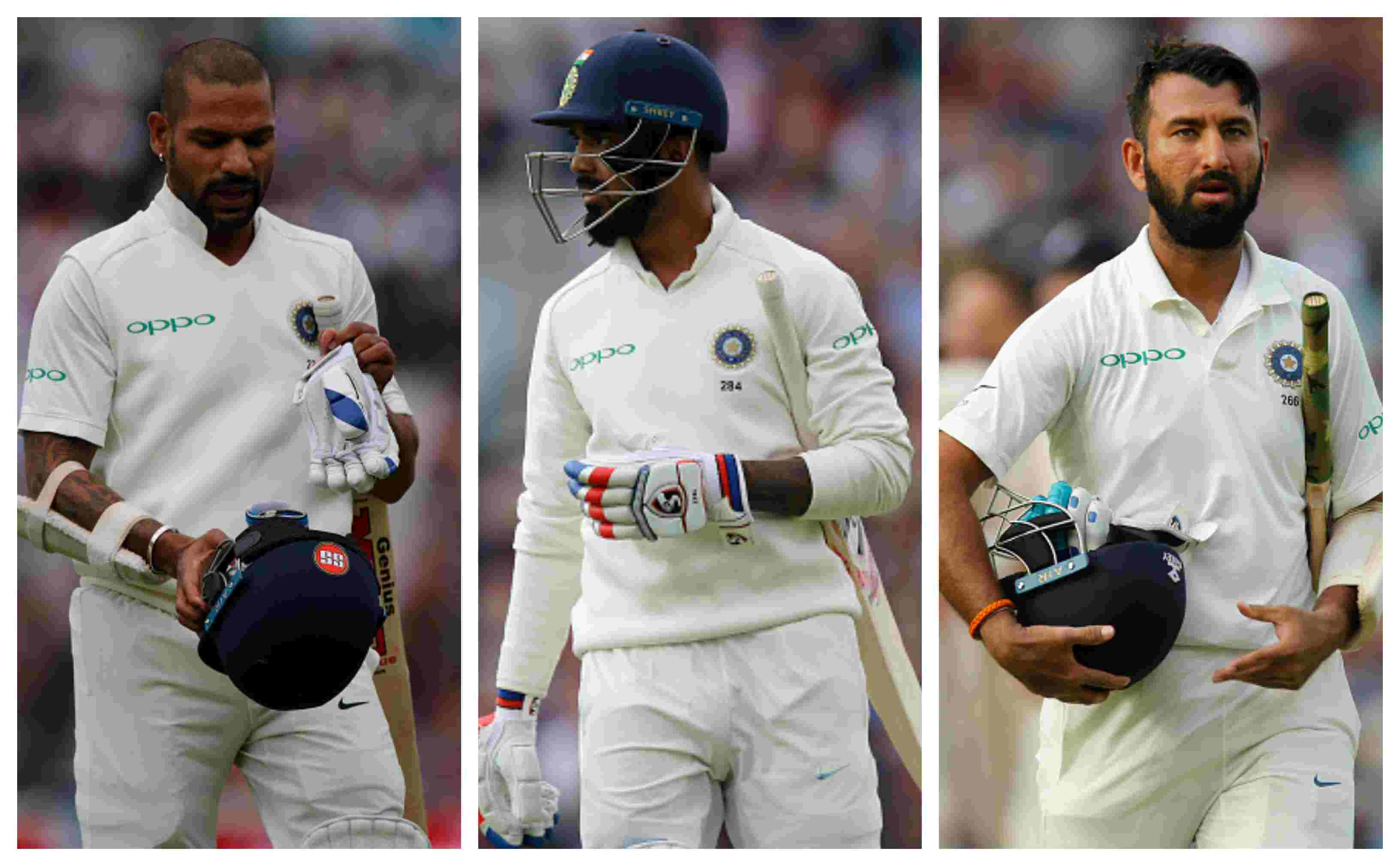 India batsmen have been found out in England throughout the Test series   Getty