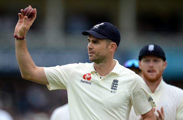 Anderson has rubbished all ball tampering claims. (Getty)