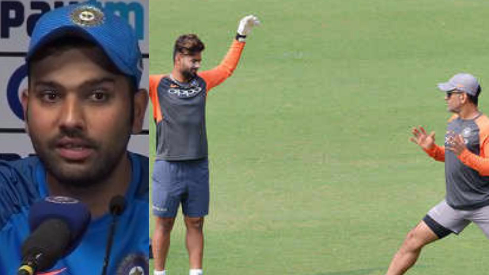 IND v WI 2018: Rohit Sharma calls absence of MS Dhoni a big opportunity for Rishabh Pant to impress