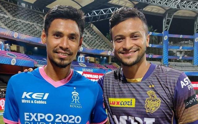 Shakib al Hasn and Mustafizur Rahman   IPL Twitter