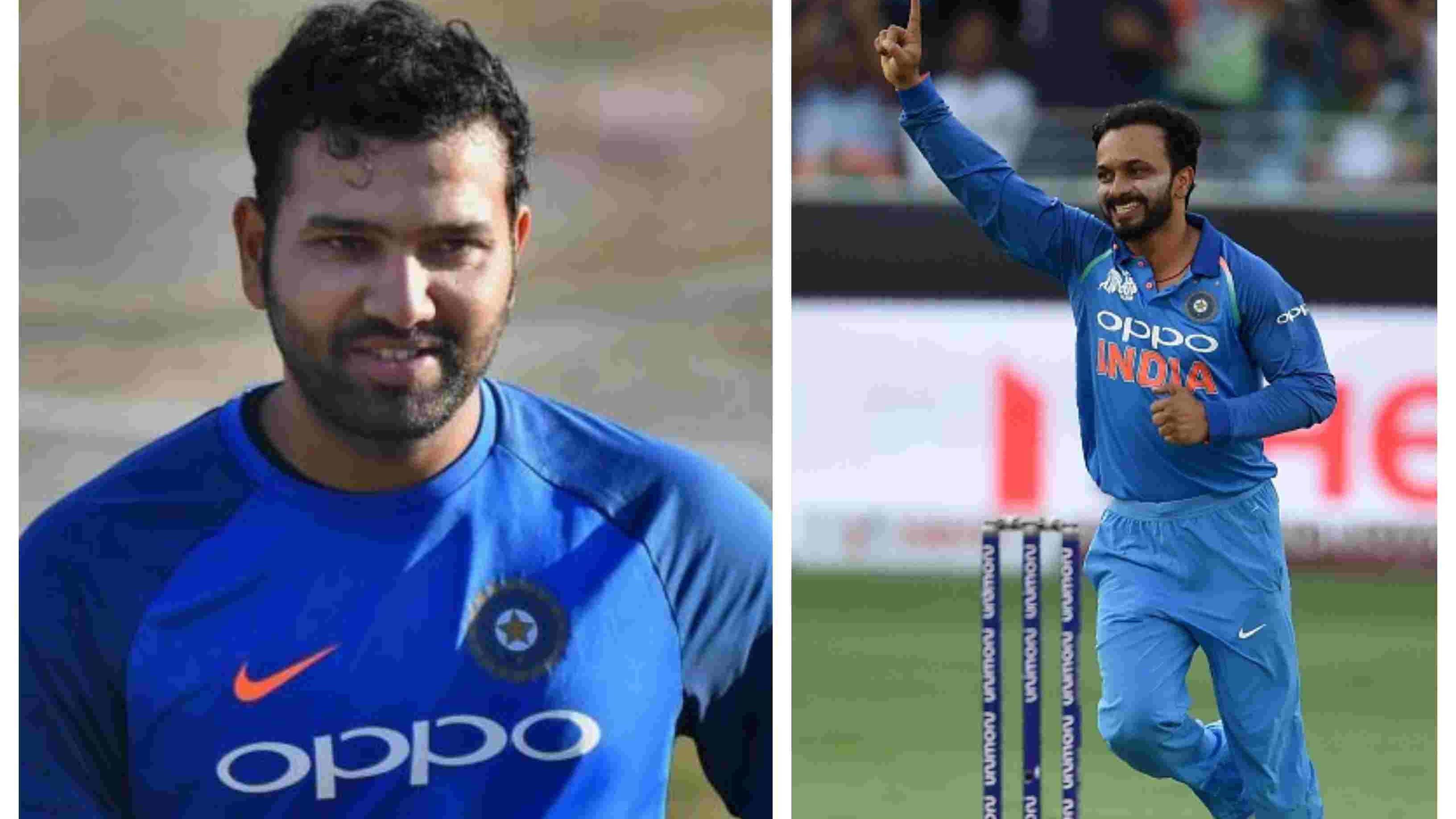 ASIA CUP 2018: Kedar Jadhav's bowling augurs well for the team, says Rohit Sharma