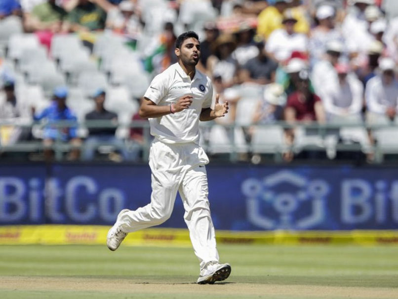 Bhuvneshwar Kumar made 30 runs and removed Markram on Day 1 of 3rd Test | AFP