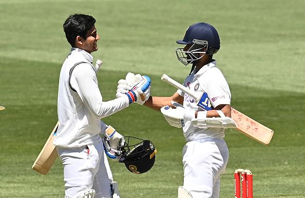 Shubman Gill and Ajinkya Rahane | Getty Images