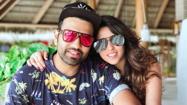 Rohit Sharma and Ritika Sajdeh  | Instagram