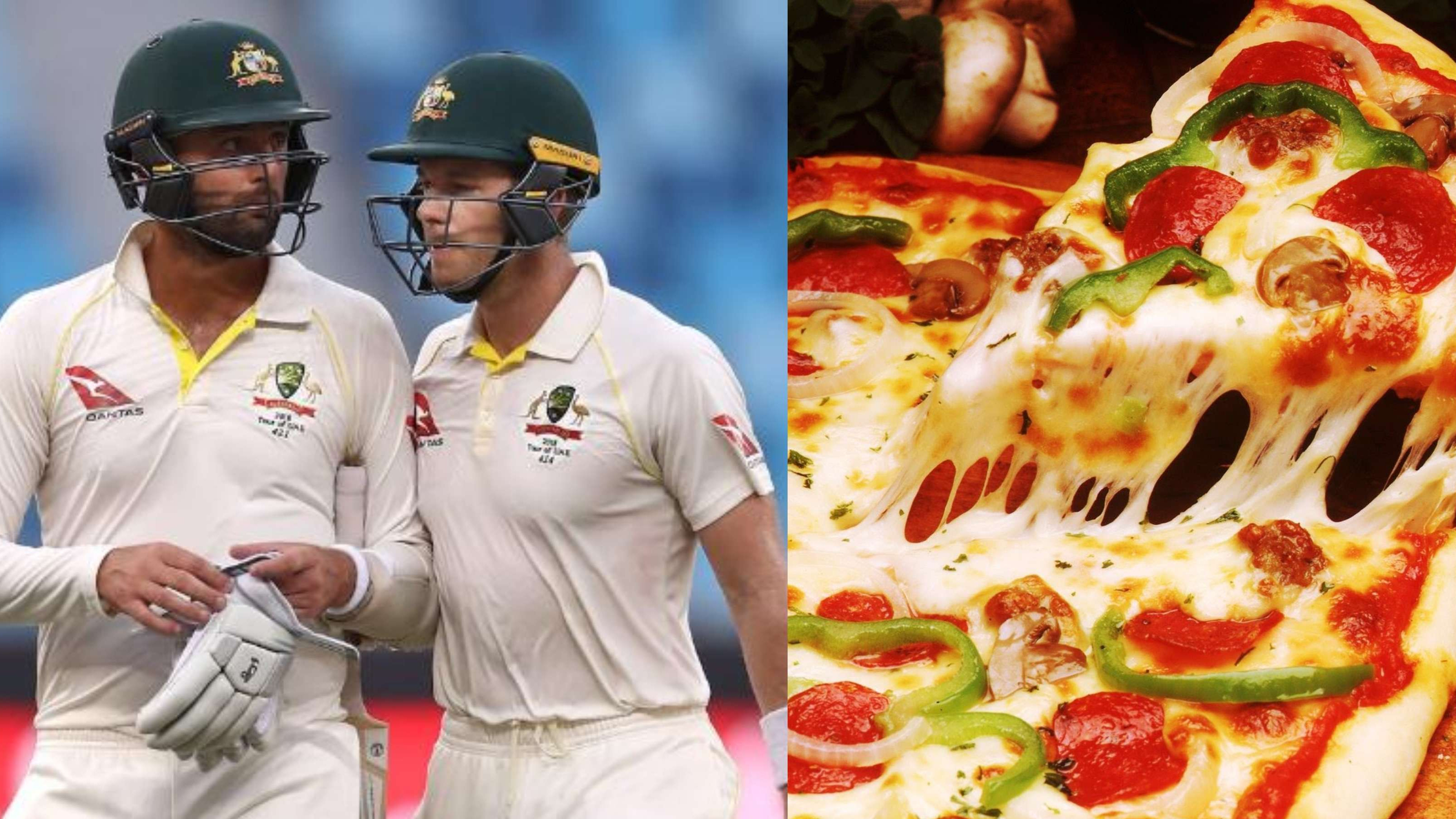 PAK v AUS 2018: Tim Paine and Nathan Lyon talked 'Pizza' during their marathon partnership