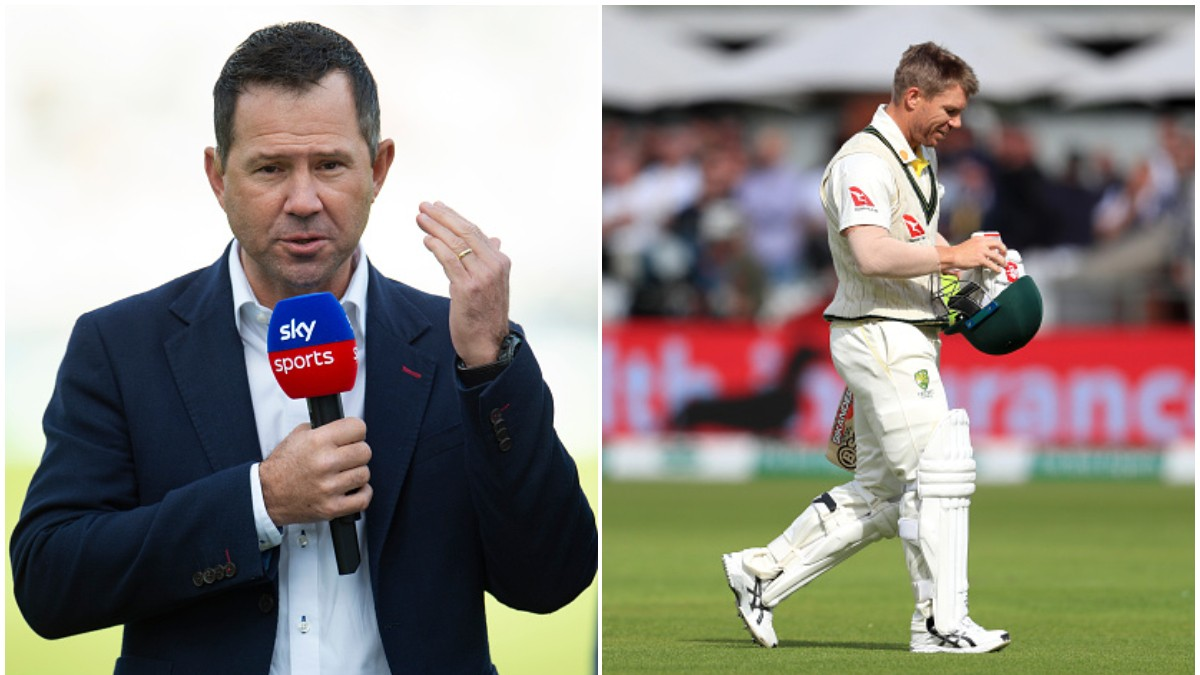 Ashes 2019: Ricky Ponting backs David Warner to retain opening spot for Oval Test