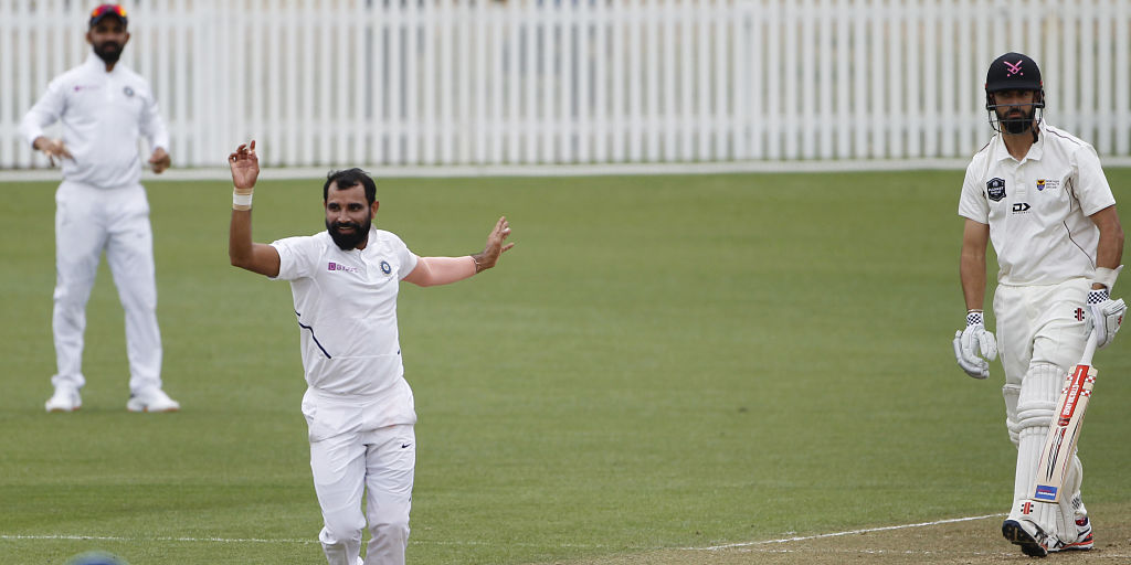 Mohammad Shami has been impressive in the ongoing practice match   Twitter
