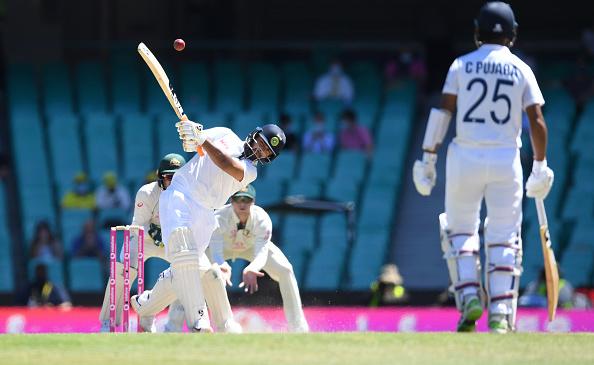 Rishabh Pant goes hammers and tonks against Australia | Getty