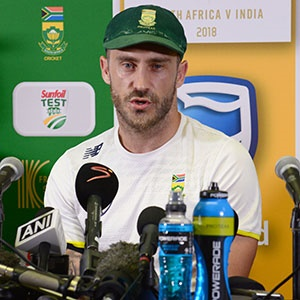 SA v IND 2018: Superior home record counts for nothing against the current India side, says Faf du Plessis