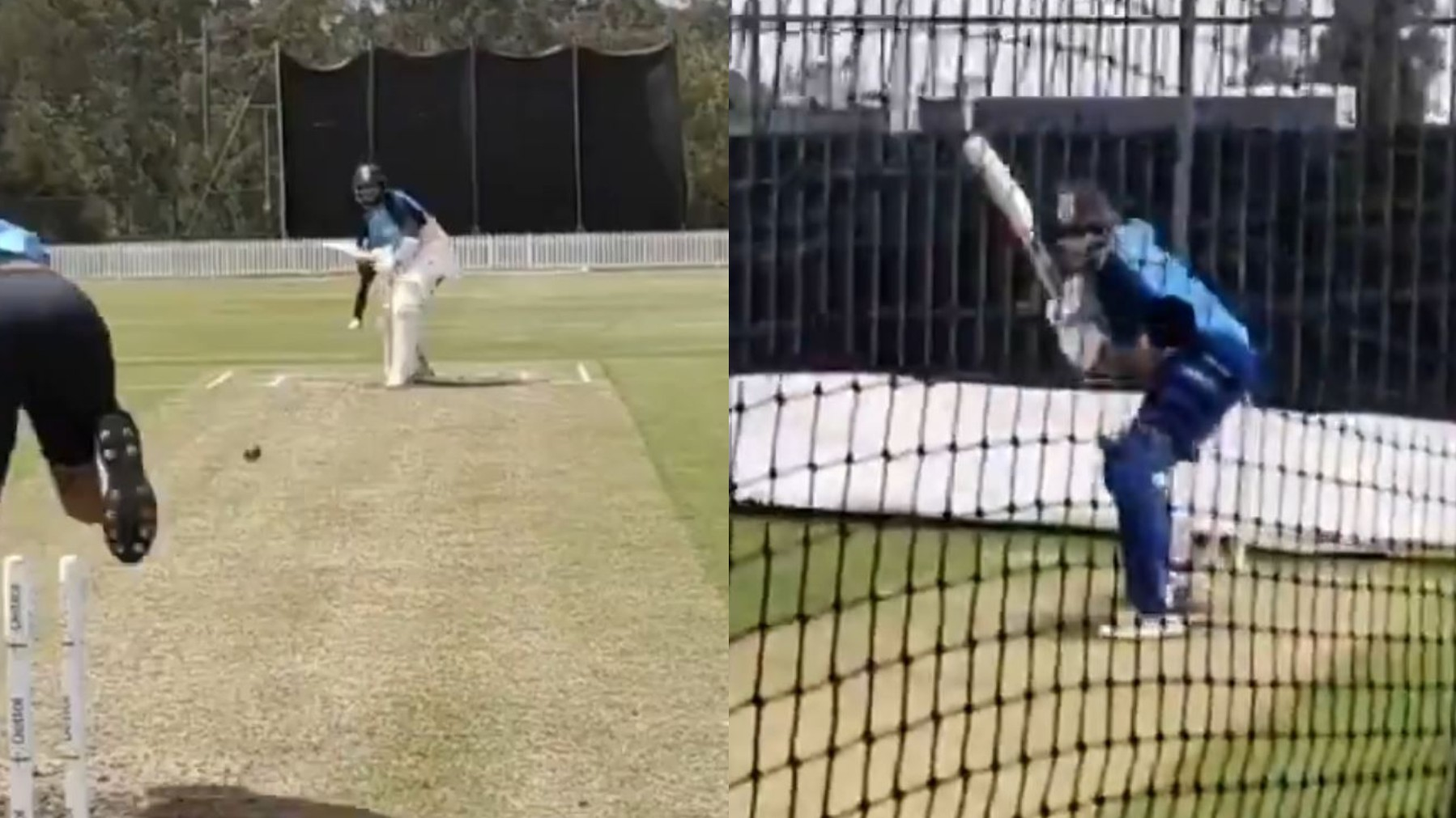 AUS v IND 2020-21: Cheteshwar Pujara and Mayank Agarwal sweat it out in nets ahead of Australia series