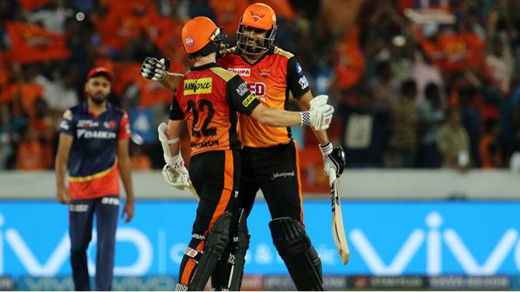 IPL 2018 : Match 36 , SRH vs DD - Statistical Highlights